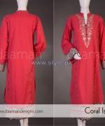 Daaman Spring Dresses 2014 For Girls 2
