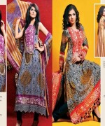 Dawood Textiles Spring Dresses 2014 For Women 0011