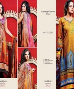 Dawood Textiles Spring Dresses 2014 For Women 006