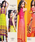 Dawood Textiles Spring Dresses 2014 For Women 008