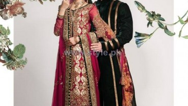 Fahad Hussayn Wedding Wear Dresses 2014 For Boys and Girls 2