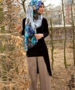 Fashion Of Head Scarves And Hijab Designs 2014 For Women 001