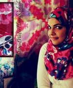 Fashion Of Head Scarves And Hijab Designs 2014 For Women 0014