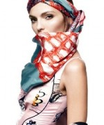 Fashion Of Head Scarves And Hijab Designs 2014 For Women 0017