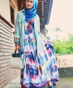 Fashion Of Head Scarves And Hijab Designs 2014 For Women 0021