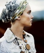 Fashion Of Head Scarves And Hijab Designs 2014 For Women 006