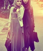 Fashion Of Head Scarves And Hijab Designs 2014 For Women 007
