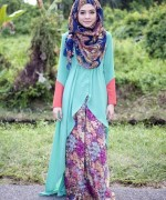 Fashion Of Head Scarves And Hijab Designs 2014 For Women 011
