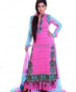 Ghani Textile Cambric Dresses 2014 For Girls 2