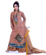 Ghani Textile Cambric Dresses 2014 For Girls 3