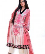 Ghani Textile Cambric Dresses 2014 For Girls 4