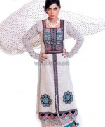 Ghani Textile Cambric Dresses 2014 For Spring 6