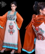 Ghani Textile Party Dresses 2014 For Women 001