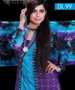 Ghani Textile Party Dresses 2014 For Women 002