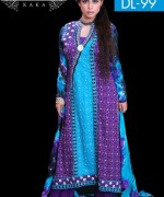 Ghani Textile Party Dresses 2014 For Women 003