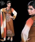 Ghani Textile Party Dresses 2014 For Women 005