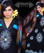 Ghani Textile Party Dresses 2014 For Women 008