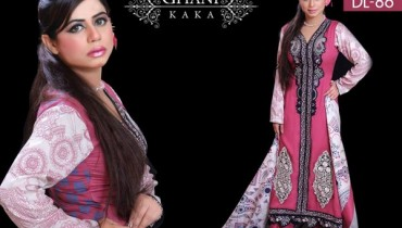 Ghani Textile Party Dresses 2014 For Women 009