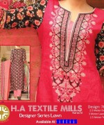 H.A Textile Lawn Dresses 2014 For Women 0011