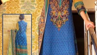 H.A Textile Lawn Dresses 2014 For Women 002