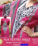 H.A Textile Lawn Dresses 2014 For Women 007