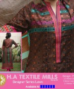 H.A Textile Lawn Dresses 2014 For Women 008