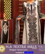 H.A Textile Lawn Dresses 2014 For Women 009