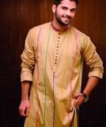 Hadiqa Kiani Spring Dresses 2014 For Men 006