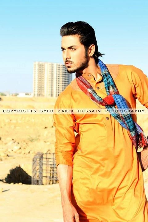 Hassan Waheed Casual Dresses 2014 For Men 002