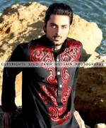 Hassan Waheed Casual Dresses 2014 For Men 006