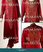 Hina Khan Formal Wear Dresses 2014 for Women009