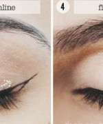 How To Make Cat Eyes For Night Makeup 5