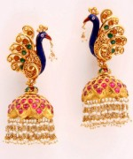 Jhumka Designs for Girls and Women013