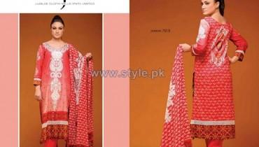 Jubilee Cloth Mills Spring Summer Dresses 2014 For Women 12