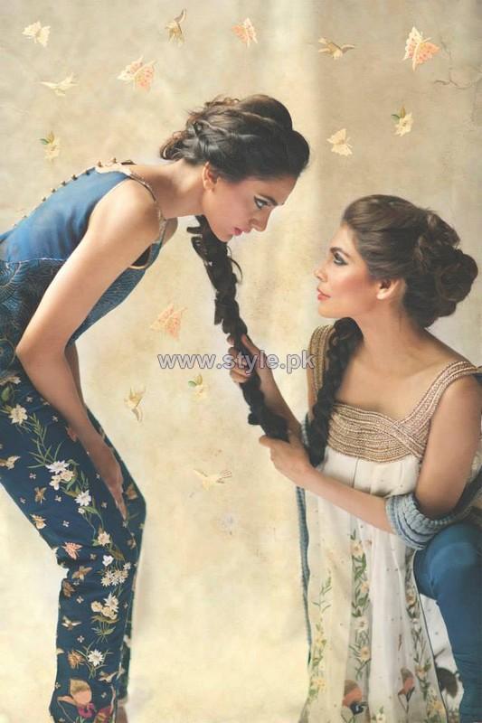 Mahgul Spring Dresses 2014 by Nasreen Shaikh 1