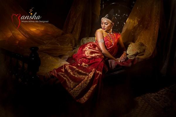 Mansha Wedding Dresses 2014 For Women 004