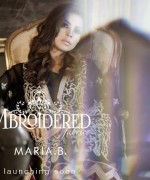 Maria B Embroidered Dresses 2014002