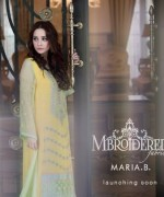 Maria B Embroidered Dresses 2014003