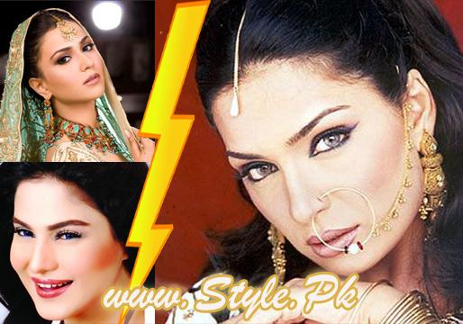 Meera's view about Humaima Malik and veena