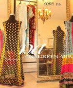 Naureen Arbab Embroidered Dresses 2014 For Women 006