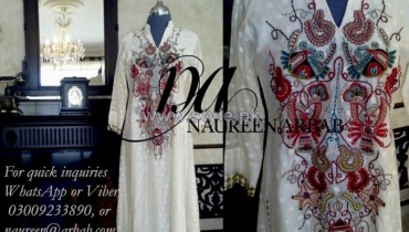 Naureen Arbab Spring Collection 2014 For Women 8