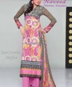 Naveed Nawaz Textiles Summer Dresses 2014 For Women 4