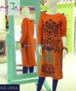 Rang Ja Casual Wear Dresses 2014 For Girls 1