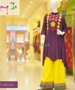 Rang Ja Casual Wear Dresses 2014 For Girls 2