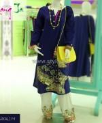 Rang Ja Casual Wear Dresses 2014 For Girls 3