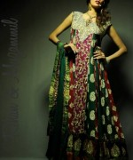 Rehan And Muzammil Party Dresses 2014 For Women 002