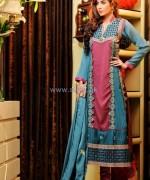 Salam's Textile Summer Dresses 2014 For Women 4