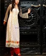 Salam's Textile Summer Dresses 2014 For Women 5