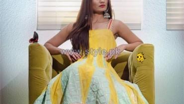 Sanober Azfar Spring Clothes 2014 For Girls 1