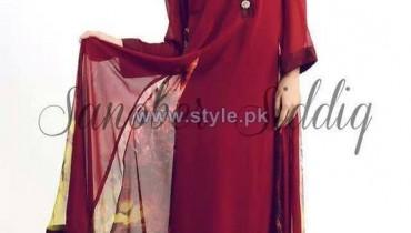 Sanober Siddiq Spring Dresses 2014 For Girls 2
